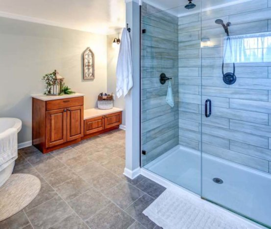 Bathroom Glass Doors – Hartman Glass