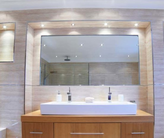 Bathroom Glass Mirrors – Hartman Glass