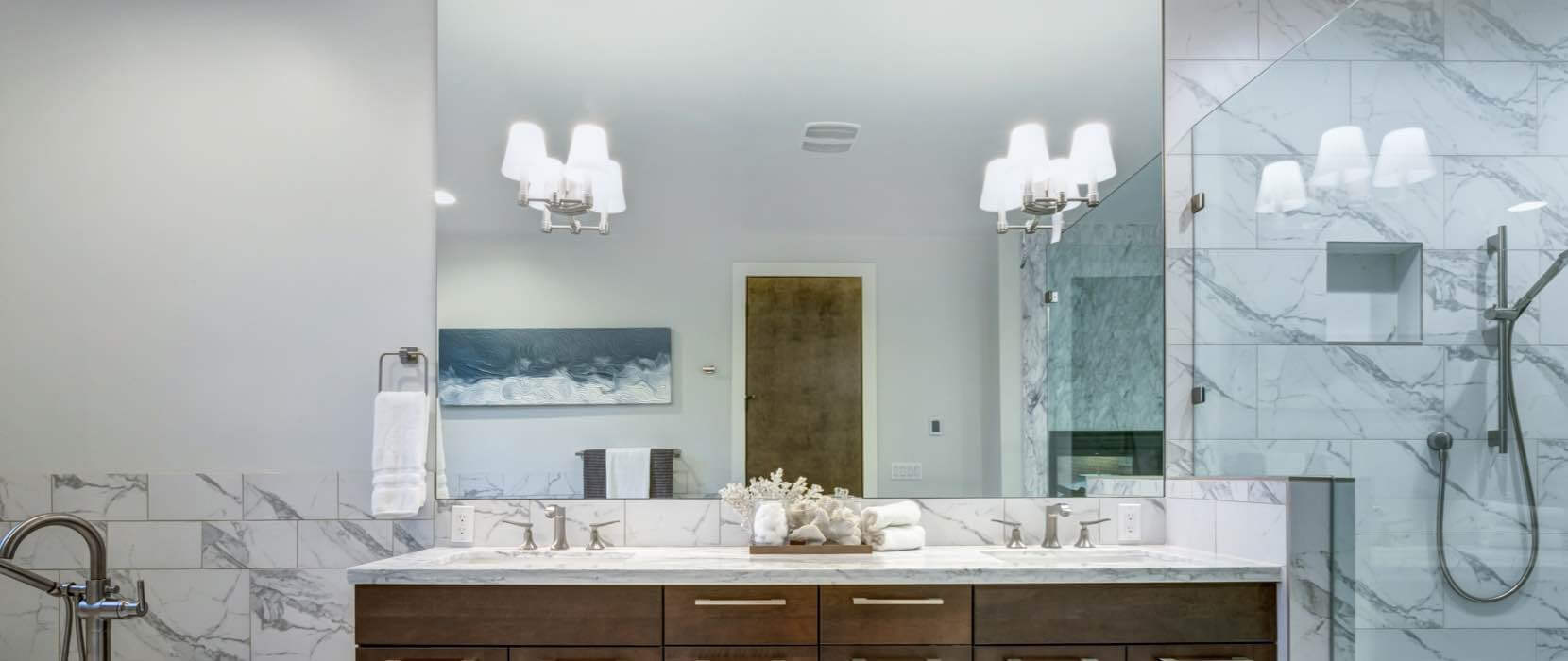 Glass Bathroom Mirrors – Hartman Glass