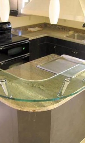 Bar Countertop Glass - Hartman Glass