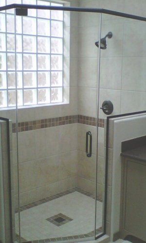 Bates Frameless Shower Door - Hartman Glass