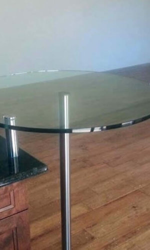 Circular Glass Countertop - Hartman Glass