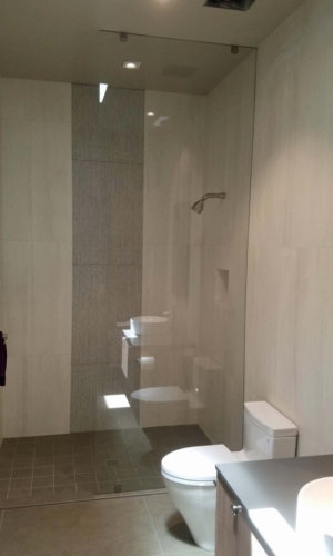 Frameless Glass Shower - Hartman Glass