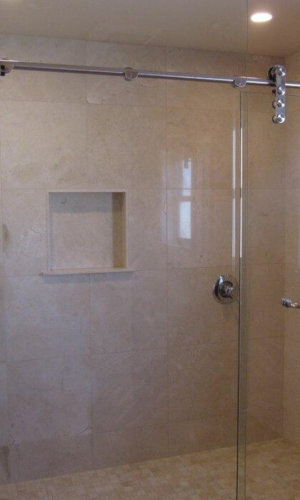 Frameless Glass Shower Panels - Hartman Glass