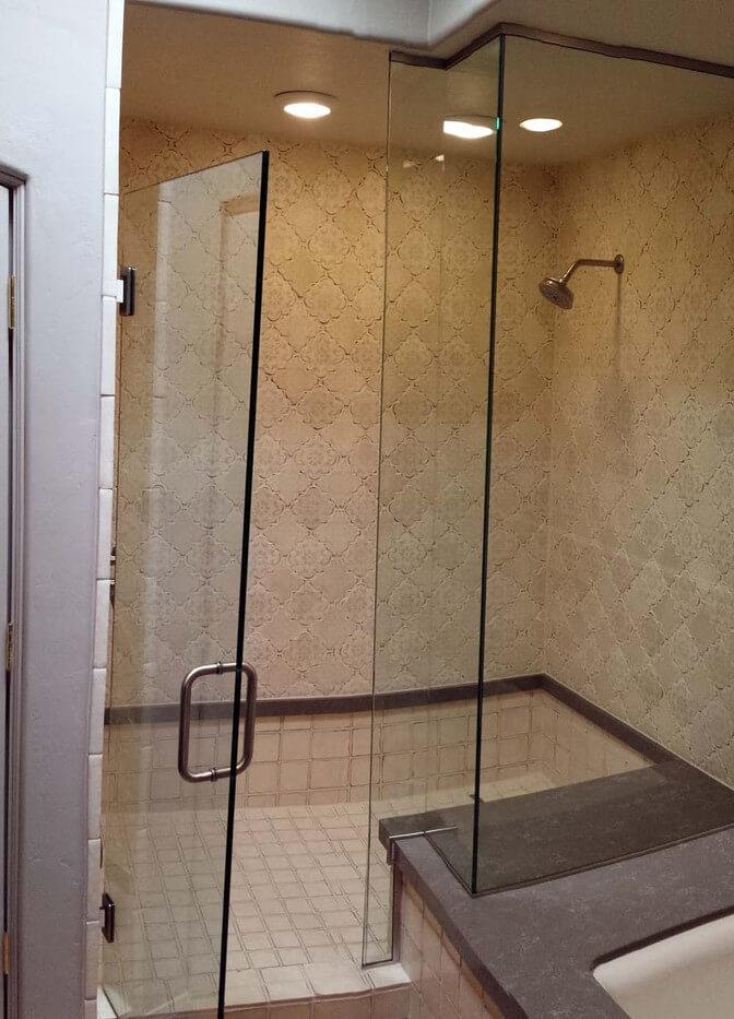Shower Doors Tucson Az Hartman Glass, Swinging Bathroom Doors