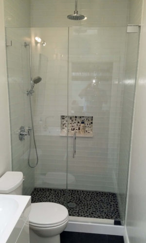 Glass Shower Frameless – Hartman Glass