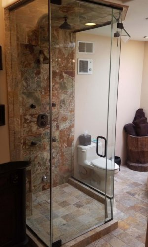 Personal Spa Doors – Hartman Glass