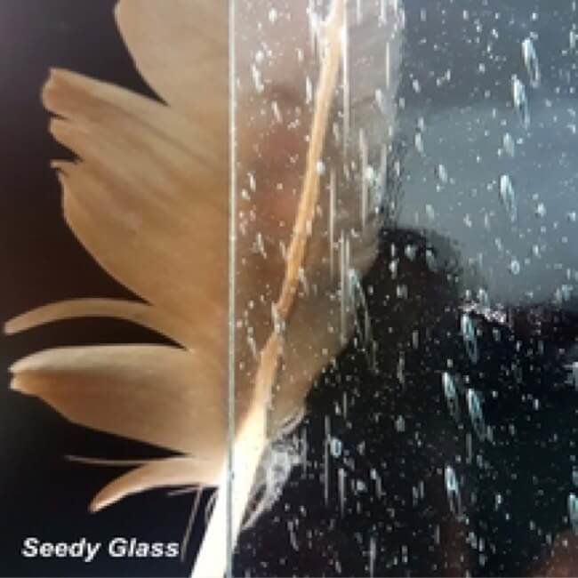 Seedy Cabinet Glass