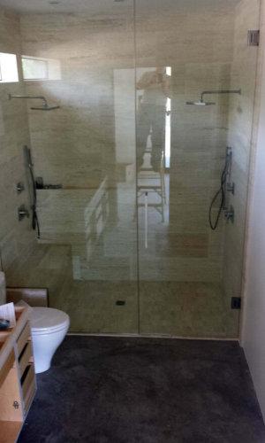 Swing Door from Floor to Ceiling - Hartman Glass