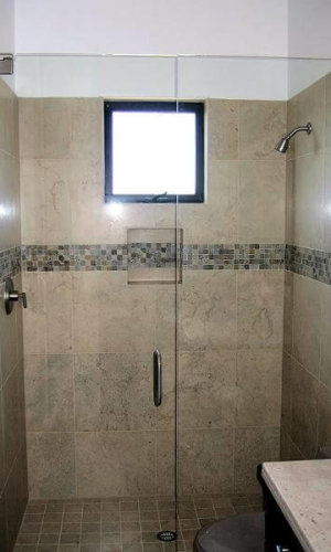 Swing Door for Shower - Hartman Glass