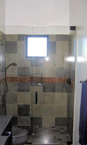 Swing Door Glass Shower Doors - Hartman Glass