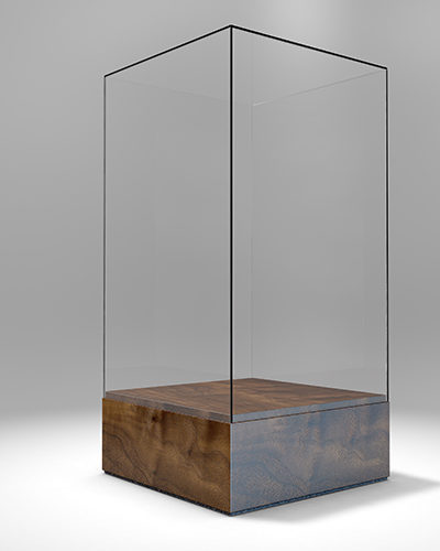 DC2 - Single Rectangle Display Case