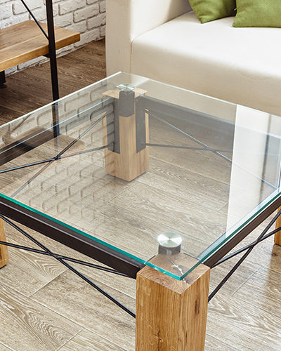 TG1 - Glass Coffee Table