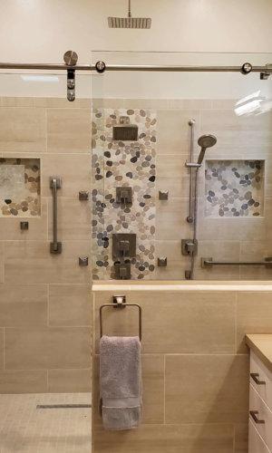 SS6 - Single Sliding Shower Door