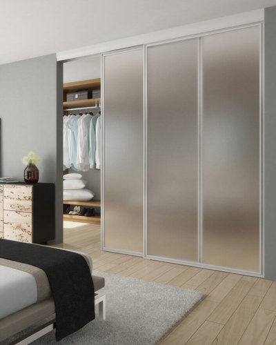 Bedroom Wall Partition - Hartman Glass