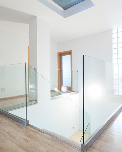 Frameless Glass Stair Railing - Hartman Glass
