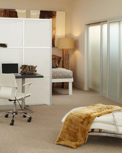Freestanding Office Partition - Hartman Glass