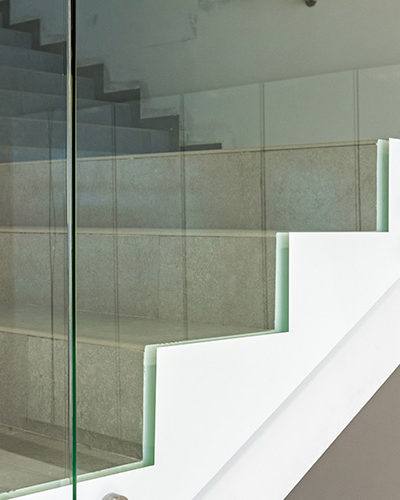 GR10 - Glass Railing For Stairs