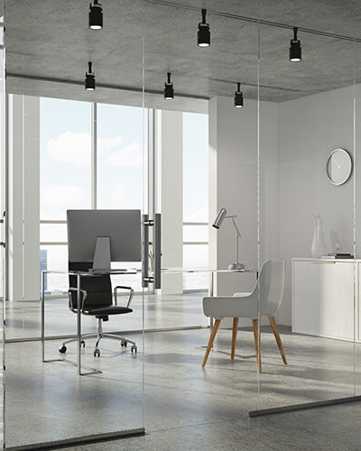 GP3 - Glass Wall Office Partition