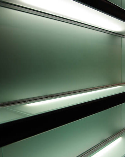 SH2 - Glass Wall Shelves