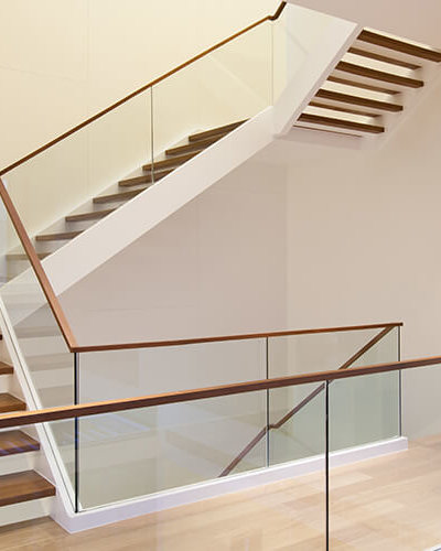 Glass Wood Railing System - Hartman Glass