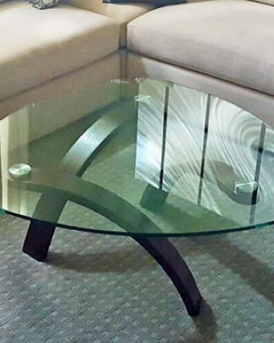 TG5 - Rounded Edge Table Glass