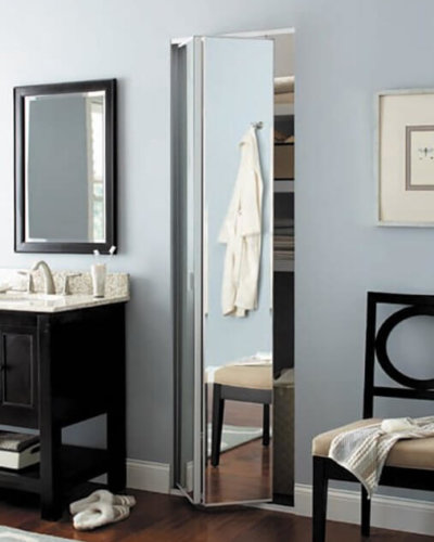 Sliding Dressing Room Mirror - Hartman Glass
