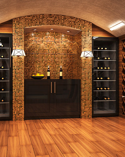 Wine Room Glass Doors - Hartman Glass