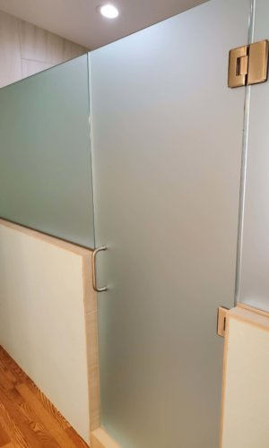 SD25 - Frosted Glass Swing Door