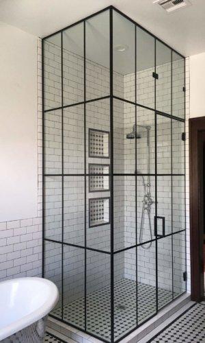 SD5 -Matte Black Grid Style