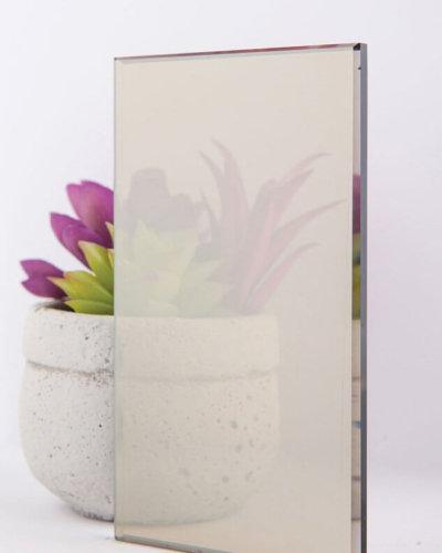 Reflective Bronze Glass
